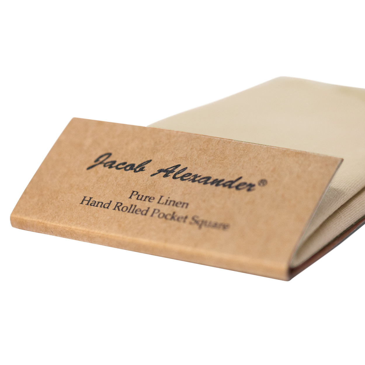 Jacob-Alexander-Linen-Handrolled-15-034-x-15-034-Pocket-Square-Hanky thumbnail 36